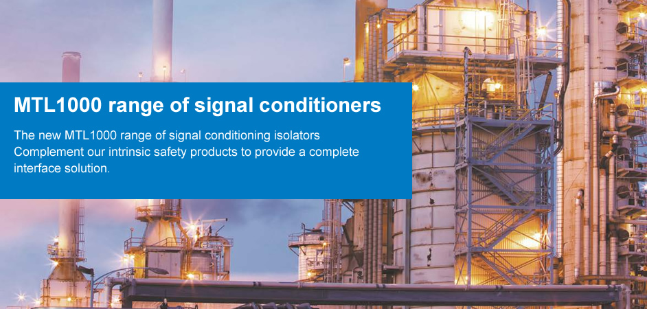 MTL1000 range of signal conditioners