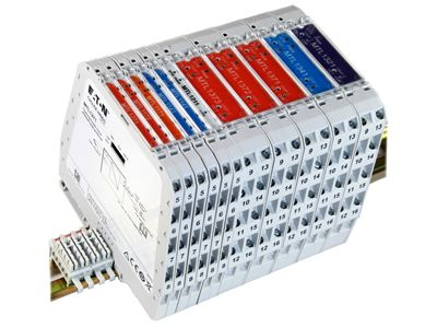 MTL1145 loop powered current repeater 1 channel for 4-20mA analogue outputs/inputs.