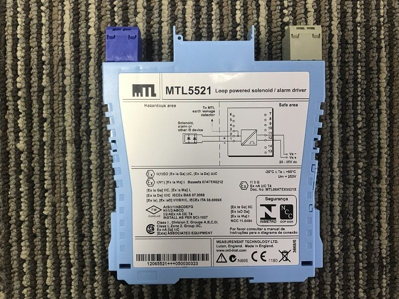 New arrival MTL4532 4/20mA current one channel isolated barrier with good price for sale now.